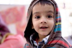 häpet barn Royaltyfri Bild