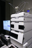 HPLC chromatograph stock photo
