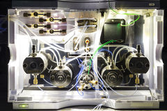 HPLCsystem Royaltyfria Foton