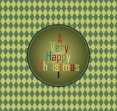Hppy Christmas Royalty Free Stock Photography