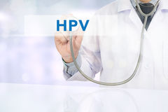 HPV CONCEPT Royalty Free Stock Images