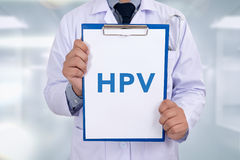 HPV CONCEPT Stock Photography