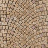 HQ безшовный, мостоваая булыжника tileable текстуры декоративная Стоковые Фото