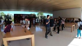HQ de Apple Store almacen de metraje de vídeo