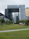 HQ di governo - rivoluzione dell'ombrello, Ministero della marina, Hong Kong Immagini Stock