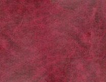 HQ red-brown leather texture Royalty Free Stock Photography