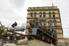 HQ Steampunk в Oamaru, Новой Зеландии Стоковые Изображения RF