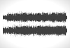 HQ Vector sound waves. Music waveform background. You can use in club, radio, pub, DJ show, party, concerts, recitals. Or the audio technology advertising Royalty Free Stock Image