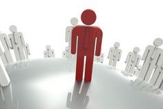 HR目标概念 免版税库存照片