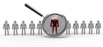 HR选择 免版税图库摄影
