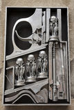 HR Giger sculpture Stock Image