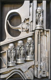 HR Giger sculpture Stock Photography