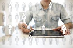 HR Human resources management. Recruitment, Hiring, Team Building. Organisation structure. HR Human resources management. Recruitment Hiring, Team Building stock images