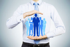 HR i pracownik opieki pojęcie zdjęcia royalty free