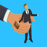 HR management illustration Royalty Free Stock Photo