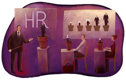 HR managers' education Royalty Free Stock Photography