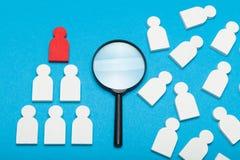 HR zarządzanie, ludzki ubezpieczenie, opieka lider zdjęcia stock