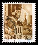 Hrabiowski 1710-1790 Hadik Andras śródpolny marszałek, charaktery i relikwie Węgierski historii seria około 1943, fotografia royalty free