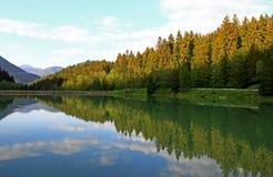 Hrabovo - water basin in region Liptov Royalty Free Stock Image