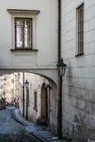 Hradčany, Prague, Czech republic. Stairs in Hardčany, Prague, Czech republic Royalty Free Stock Photos