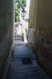 Hradčany, Prague, Czech republic. Stairs in Hardčany, Prague, Czech republic Stock Photos