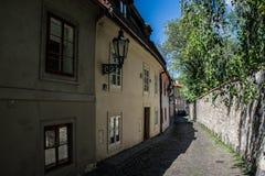 Hradčany, Prague, Czech republic. Stairs in Hardčany, Prague, Czech republic Royalty Free Stock Image