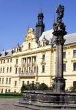 HradÄ  om het even welk - I-Praag Royalty-vrije Stock Fotografie