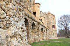 Hrad de Janův, le château de janv., Lednice, République Tchèque, Moravie Images libres de droits