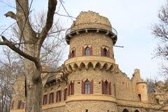 Hrad de Janův, le château de janv., Lednice, République Tchèque, Moravie Photo libre de droits