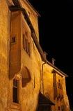 Hrad de Oravsky - castelo de Orava, Eslováquia imagens de stock