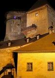 Hrad de Oravsky - castillo de Orava, Eslovaquia fotografía de archivo libre de regalías