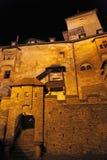 Hrad de Oravsky - castillo de Orava, Eslovaquia fotografía de archivo