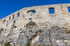 Hrad de Spissky do castelo de Spis, Eslováquia Foto de Stock Royalty Free