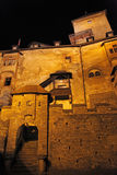 Hrad di Oravsky - castello di Orava, Slovacchia fotografia stock