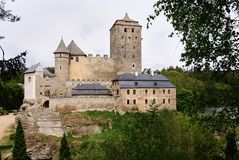 Hrad Kost - gothic Castle Kost Stock Photo