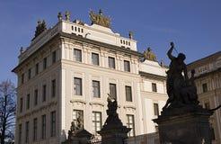 hrad prasky стоковое изображение rf