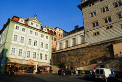 Hradcanske square, Prague Royalty Free Stock Photos