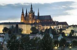 Hradcany à Prague photo stock