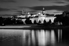 Hradcany à Prague images libres de droits