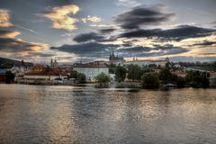 Hradcany à Prague image stock