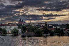 Hradcany à Prague images stock