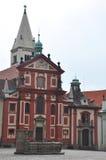 Hradcany Castle in Prague Stock Photography