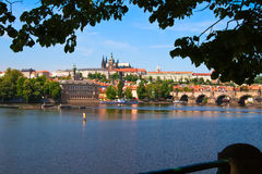 Hradcany district of Prague Stock Photos
