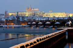 Hradcany in Prague Royalty Free Stock Photography