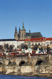 Hradcany - Prague castle Stock Photography
