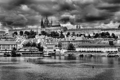 Hradcany in Prague Royalty Free Stock Images