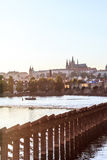 Hradcany Prague at sunset Royalty Free Stock Photo