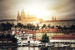Hradcany in Prague. royalty free stock image