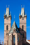 Hradec Kralove, Czech Republic. Cathedral of the Holy Spirit, Large Square, Hradec Kralove, Czech Republic Stock Image