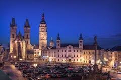 Hradec Kralove, Czechia. View of Market square